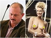 Marian Kotleba a Michaela Sahul