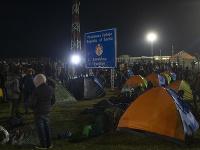 Účastníci pokojnej štvrtkovej demonštrácie pri hraniciach požadovali otvorenie hraníc