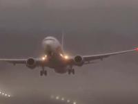 Búrka nedovolila pristáť lietadlám v celej Európe.