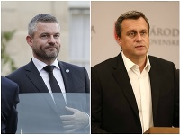 Peter Pellegrini a Andrej Danko