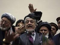 Afganský premiér a neúspešný kandidát na prezidenta Abdulláh Abdulláh