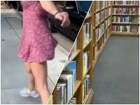 Film pre dospelých sa točil v knižnici
