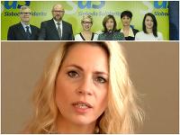 Jana Kiššová sa vracia k SaS - volebne.