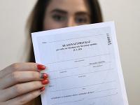 Hlasovací preukaz pre voľby do Národnej rady Slovenskej republiky