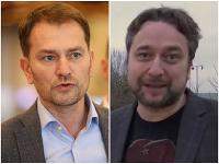 Igor Matovič a Ľuboš Blaha