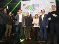 Hnutie OĽaNO zvíťazilo v parlamentných voľbách.