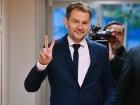 Predseda hnutia Obyčajní ľudia a nezávislé osobnosti (OĽANO) Igor Matovič