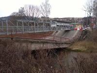 V Trstenej sa zrútil most do rieky