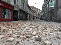 Chorvátsko zasiahlo v nedeľu zemetrasenie s magnitúdou 5,3.