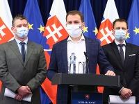 Vláda na čele s Igorom Matovičom rokovala včera do noci