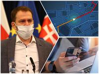 Matovičova vláda prichádza s novinkou možného sledovania pohybu mobilných telefónov občanov Slovenska kvôli šíriacemu sa koronavírusu