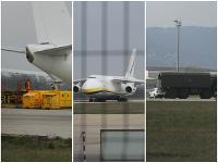 Na Slovensko priletel obrí náklad cez lietadlo Antonov An-124 Ruslan