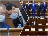 Prvú schôdzu pod vedením nového podpredsedu parlamentu Juraja Šeligu má národná rada za sebou.