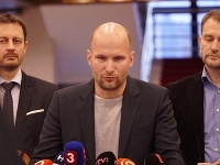 Eduard Heger, Gábor Grendel a Igor Matovič