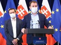 Premiér Matovič a minister Krajčí