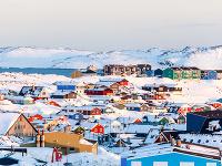 Pohľad na hlavné mesto Nuuk