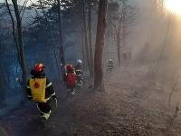 Zasahuje viac ako 40 hasičov