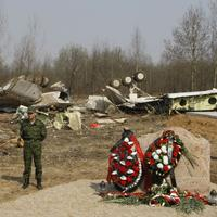 Miesto leteckého nešťastia pri Smolensku