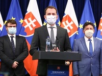 Igor Matovič na rokovaní vlády