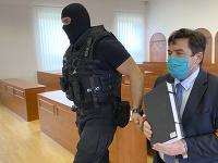 Marian Kočner na Špecializovanom trestnom súde v Pezinku.