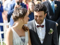 Robo Jakab s manželkou Aničkou
