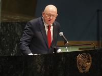 Ruský veľvyslanec pri OSN Vasilij Nebenzia