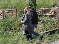 Prezidentka na romantickej prechádzke s novým partnerom Jurajom