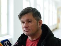 Na snímke jeden z poškodených - majiteľ baru Radovan Richtárik