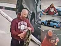 Majiteľ predajne áut, ktorému podpálili tri vozidlá, zverejnil video, na ktorom je zachytený páchateľ.