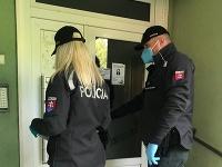 Polícia kontrolovala repatriantov v Trnavskom kraji