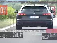 Vodiči jazdili obrovskou rýchlosťou