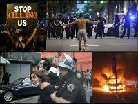 Protesty vypukli po celej Amerike