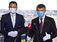 Premiér Matovič sa stretol s českým premiérom Andrejom Babišom
