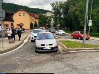 Vodič ohrozil policajné auto