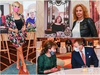 Kveta Horváthová, Kamila Magálová, Mária Reháková a Boris Kollár
