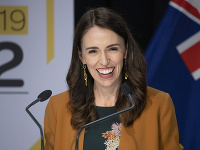 Novozélandská premiérka Jacinda Ardernová