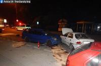 Opitý vodič narazil do dvoch áut