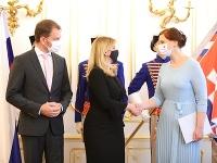Prezidentka SR Zuzana Čaputová vymenovala Remišovú do čela nového rezortu