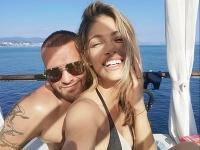Jasmina Alagič si s manželom Patrikom Rytmusom Vrbovským užívajú dovolenku v Chorvátsku.