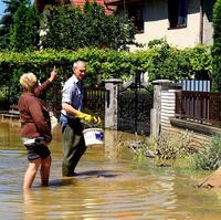 Nižná Myšľa počas júnových povodní