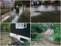 Škody po búrkach v Žilinskom kraji