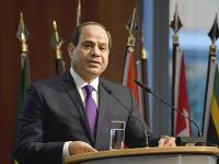 Egyptský prezident Abdel Fattah al-Sisi