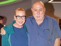 Wanda Adamík Hrycová s otcom Andym Hrycom