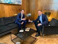 Sebastian Kurz a Igor Matovič