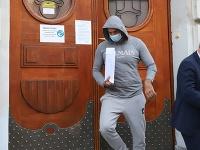 Na snímke nitriansky podnikateľ Norbert Bödör odchádza zo Špecializovaneho trestného súdu v Banskej Bystrici.