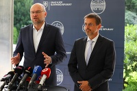 Richard Sulík a Andrej Juris