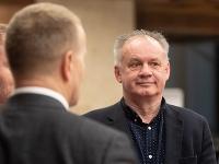 Boris Kollár a Andrej Kiska