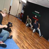 Natáčanie videoklipu ku skladbe Dance & Kiss
