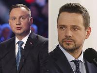 Andrzej Duda a Rafal Trzaskowski