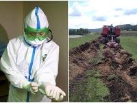 Rusi okolo sibírskej dediny vykopali priekopu